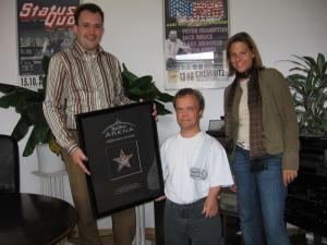 Verleihung des König-Pilsner-Arena-Awards 2006
