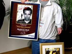 Weitere Auszeichnungen für die Tournee mit David Copperfield 2006