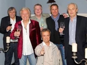 Henning Tögel beim Geburtstag von Ossy Hoppe
